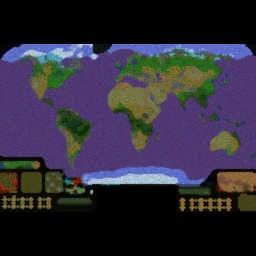 WW3 Diplomacy - Reforged v2.8 - Warcraft 3: Mini map