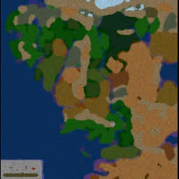 Lord of the Risk 1.0 - Warcraft 3: Mini map