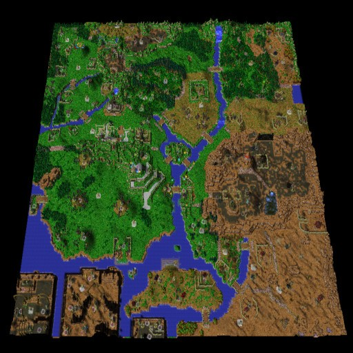 Download map Middle Earth Risk   Risk   73 different versions