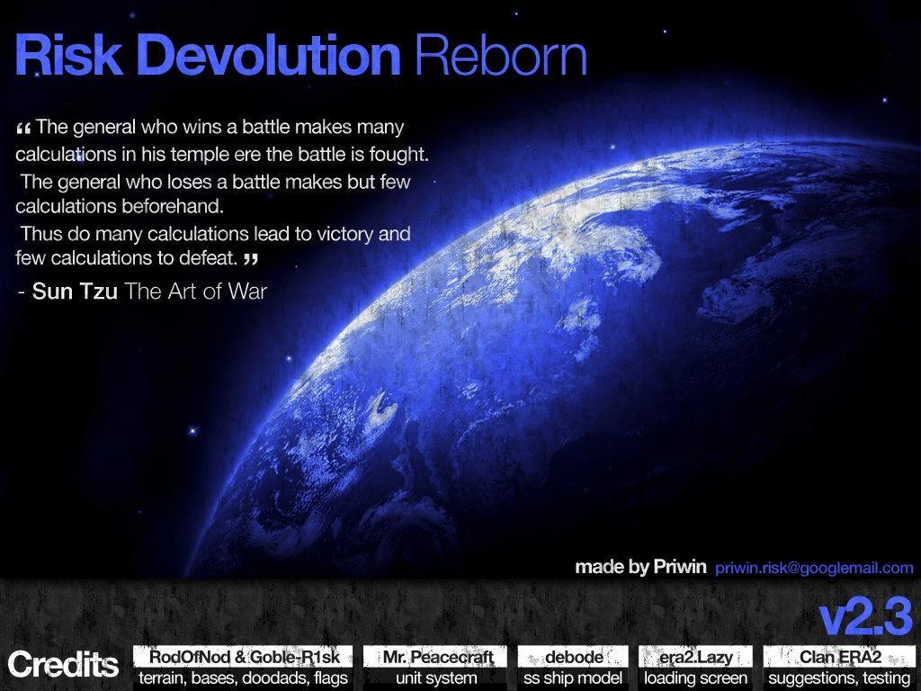 Risk Devolution Reborn 2.9 - Warcraft 3: Custom Map avatar