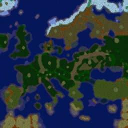 Risk Lition V3.2 - Warcraft 3: Mini map