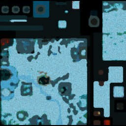 COT RPG: PoM FoC Nevermore v1.32b - Warcraft 3: Mini map