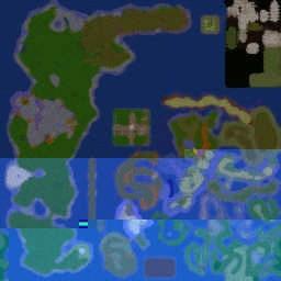 Dalanar RPG v0.25b - Warcraft 3: Mini map
