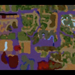 Earthsong III - Warcraft 3: Mini map