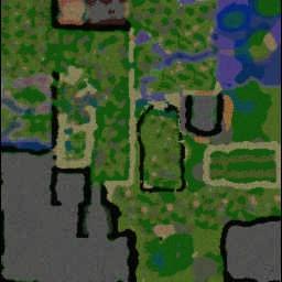 Fantasy Anime RPG 7.0008CZ - Warcraft 3: Mini map