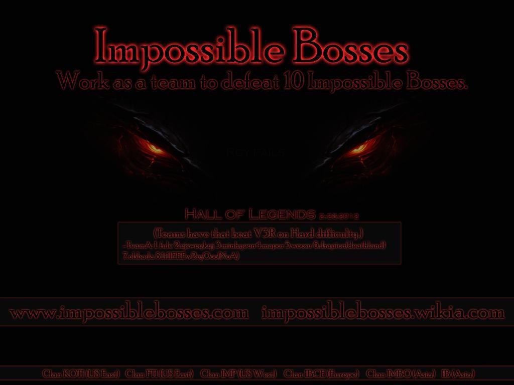 Impossible Bosses v1.11.6 - Warcraft 3: Custom Map avatar