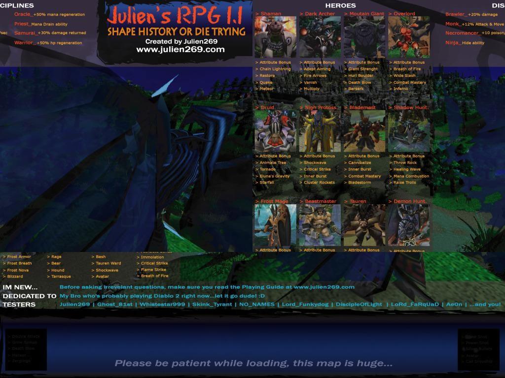 Julien's RPG 1.1 - Warcraft 3: Custom Map avatar