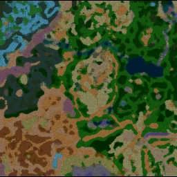 Julien's RPG 1.1 - Warcraft 3: Mini map