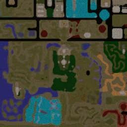 Lands of Ostarrichi ORPG 3.21cbeta5 - Warcraft 3: Mini map