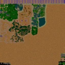 New SAG RPG 1.15b - Warcraft 3: Mini map