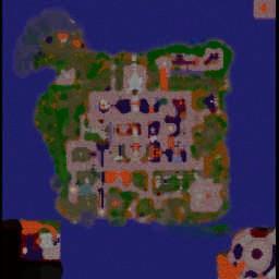 Пламя Солнечного Колодца 2.5.4  rus - Warcraft 3: Mini map