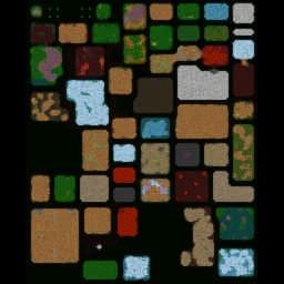 Rose QuarTz RPG 0.498 - Warcraft 3: Mini map