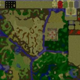 협객 Rpg0.37 - Warcraft 3: Mini map