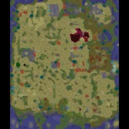 Sunken City v2.4.5c - Warcraft 3: Mini map