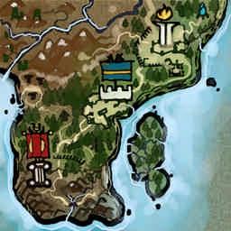 The Black Road 2.0.73 - Warcraft 3: Mini map