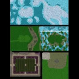 Banjoball v1.22C1 - Warcraft 3: Mini map
