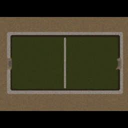 ELx's Soccer .1 - Warcraft 3: Mini map