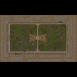 Futebol Americano 0.9 - Warcraft 3: Mini map