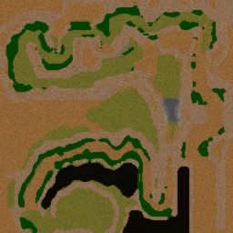 High Mountain Racing v1.3 - Warcraft 3: Mini map