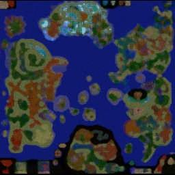 DAOW Reborn 8.04a - Warcraft 3: Mini map