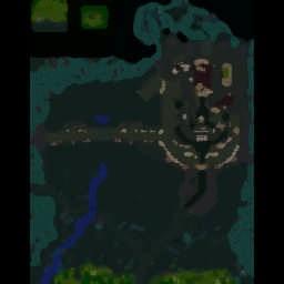 Helms Deep Total War 1.7c - Warcraft 3: Mini map