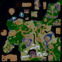 Lordaeron Tactics v9.76a PRO - Warcraft 3: Mini map