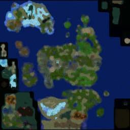 LORDAERON: TF 0.61 - Warcraft 3: Mini map