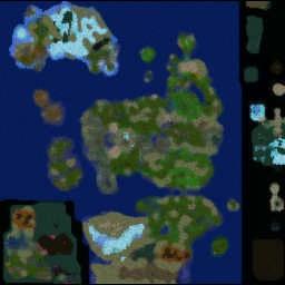 LORDAERON: TF 0.63 - Warcraft 3: Mini map