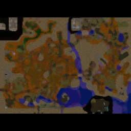 WiP: The Last Crusade v1.0.1 - Warcraft 3: Mini map