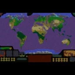 WW3 The Alternative Future 2.3b - Warcraft 3: Mini map