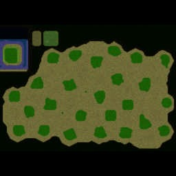 Orcs and Elves IE (1.6.1) - Warcraft 3: Mini map