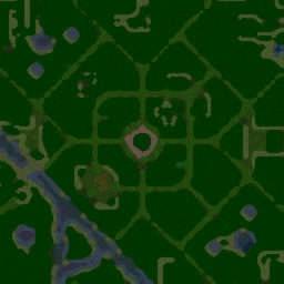 Tree Tag New v3.1 - Warcraft 3: Mini map