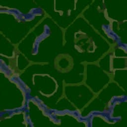 Tree Tag (ralle) v1.02d - Warcraft 3: Mini map