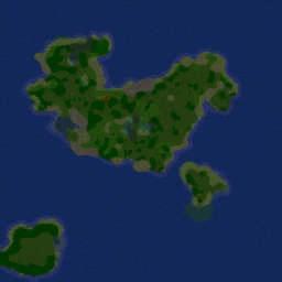 Forest Terrain v.1 - Warcraft 3: Mini map