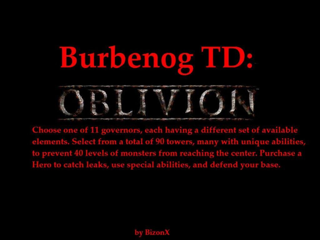 Burbenog TD: Oblivion - Warcraft 3: Custom Map avatar