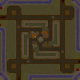 Burbenog TD: Oblivion - Warcraft 3: Mini map