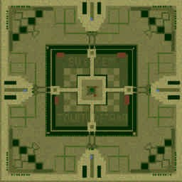 [BU's] Gem TD 4.04Pro Rhrrrrr - Warcraft 3: Mini map