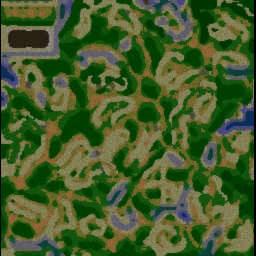 Dragon Nest TD v1.79 - Warcraft 3: Mini map