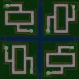 Green Circle Team TDv2.1 - Warcraft 3: Mini map