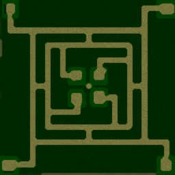 Green Circle VN 2010 6.3 - Warcraft 3: Mini map