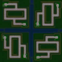 Green Team TD v4.5 - Warcraft 3: Mini map
