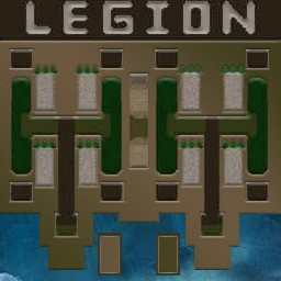 Legion TD Mega 3.6c Warcraft 3: Featured map mini map