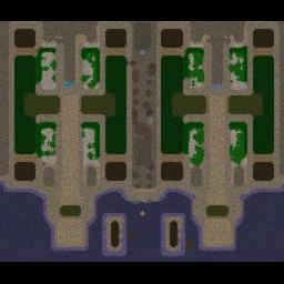 Legion TD Wood x6 - Warcraft 3: Mini map