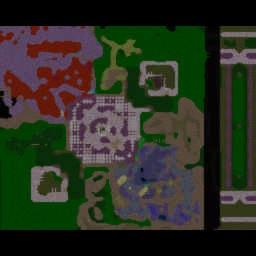 TetraMaster v4.01 - Warcraft 3: Mini map