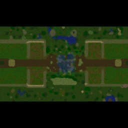 Castle Fight EU v2.0.41 Warcraft 3: Featured map mini map