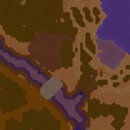 Tutorial pasar bajo los puentes - Warcraft 3: Mini map