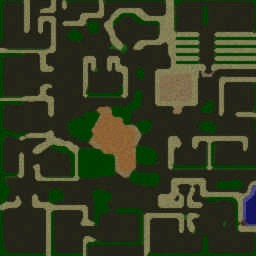 Vampire The World 1.6B - Warcraft 3: Mini map