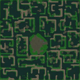Vampirism Beast 1.600f - Warcraft 3: Mini map
