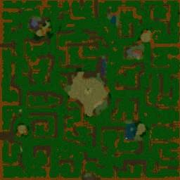 Vampirism TNG v.98 - Warcraft 3: Mini map