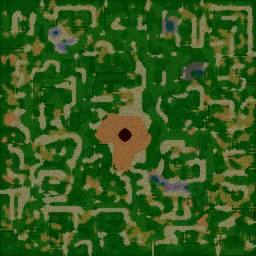 VF v5.10 BETA01 - Warcraft 3: Mini map